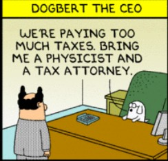 need lawyer & physicist (dilbert)