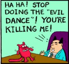 evil dance